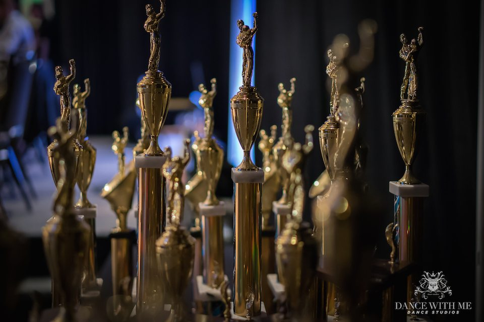 Ballroom dance competition, awards, trophies, dance trophies, dance awards