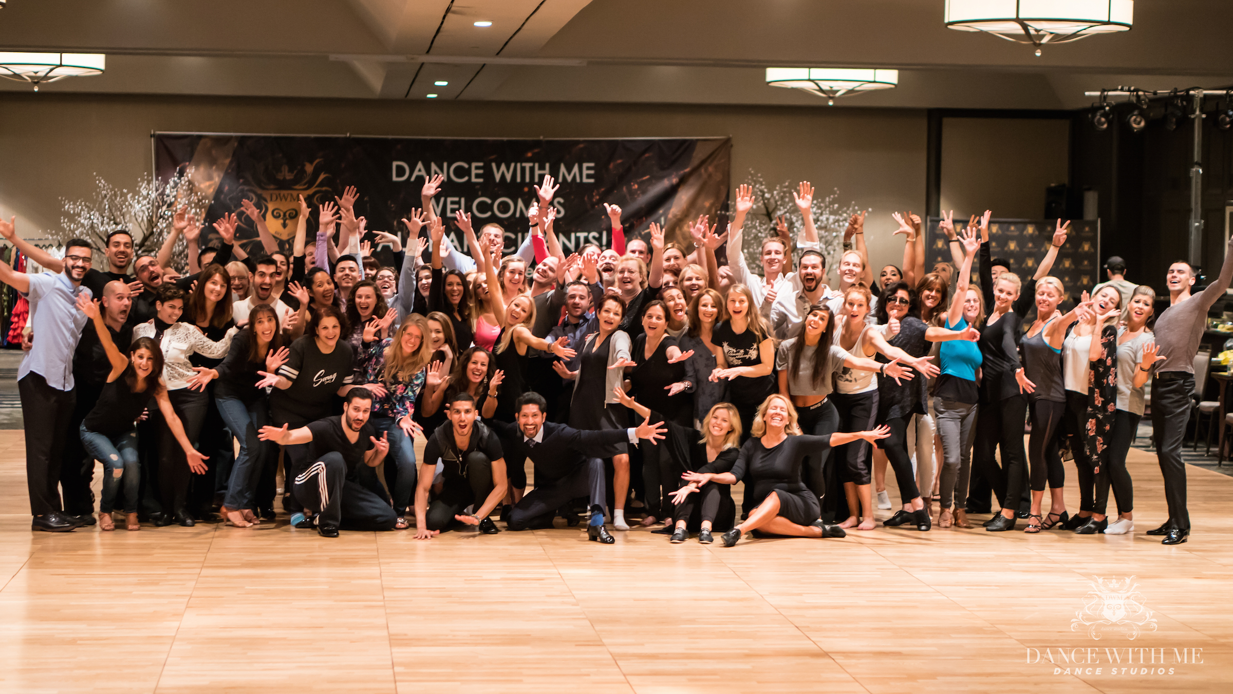Group shot, dance with me, dance students, dance instructors