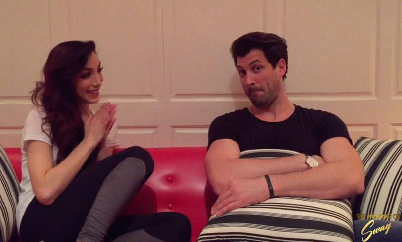 Maks chmerkovskiy, Meryl davis, the making of sway