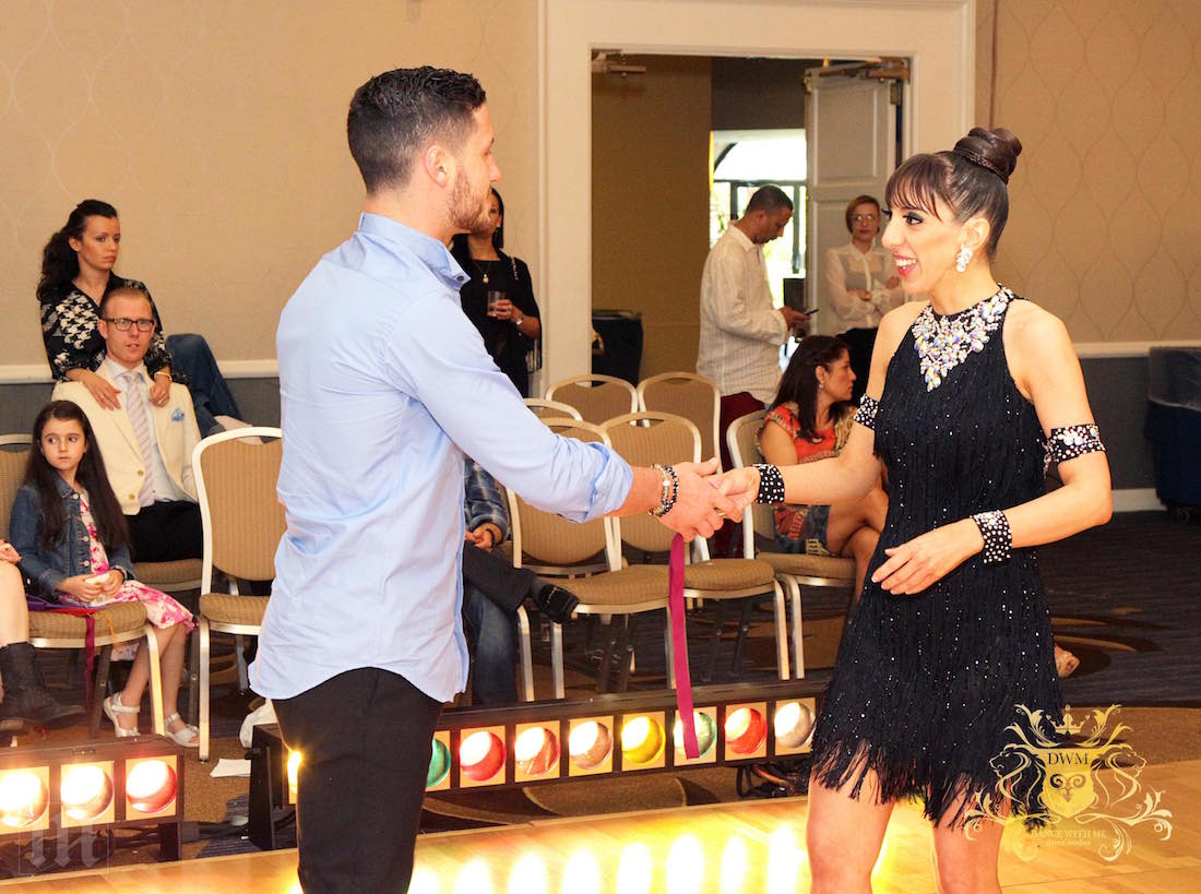 ballroom dance student, dance instructor, Nancy Paton, dance competition, Val Chmerkovskiy