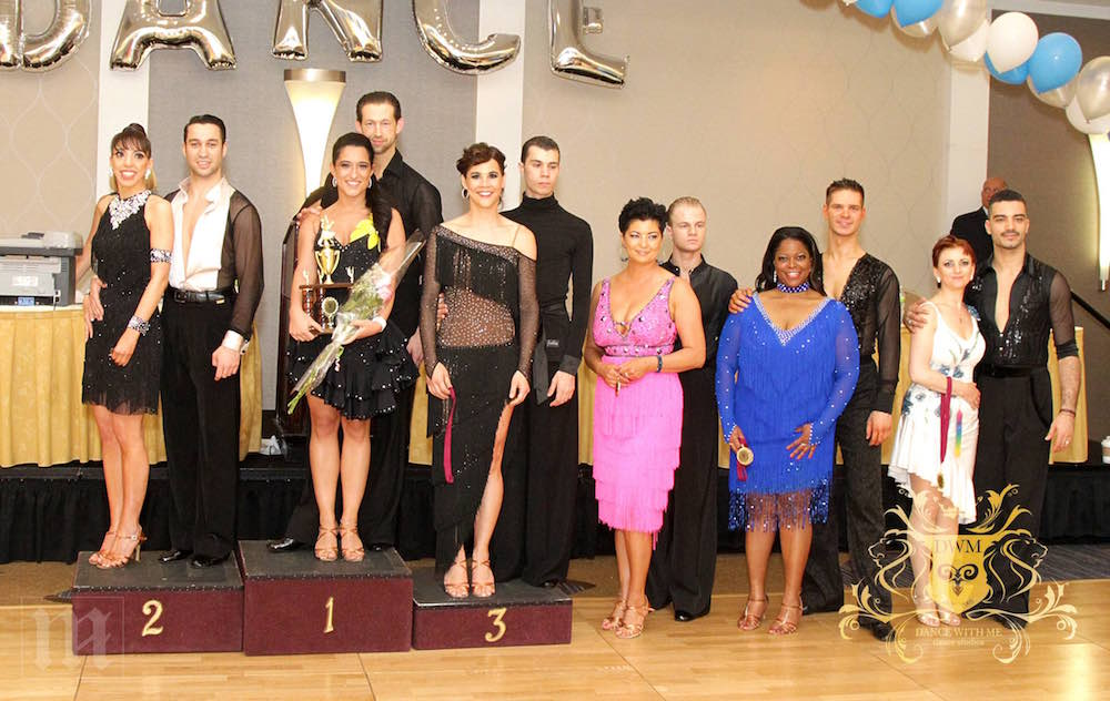 ballroom dance student, dance instructor, Nancy Paton, dance competition