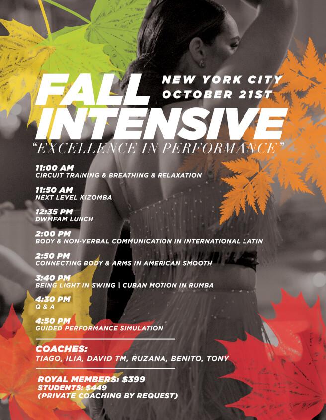 New York fall intensive
